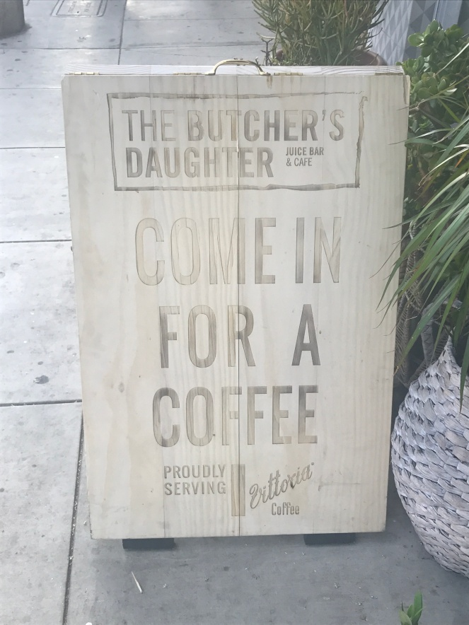 Come in for a Coffee Sign