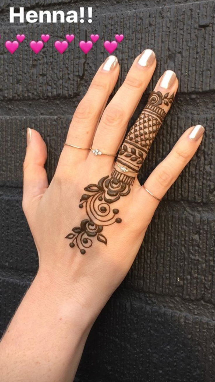 Henna and Rings
